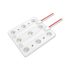 9leds lens module for single sides light box