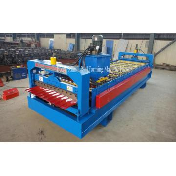 Metal Wall Profile Forming Machine With Pre Cutter
