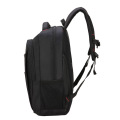 Black men Oxford spinning backpack