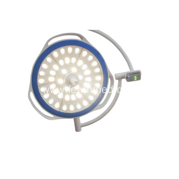 Mobile round surgical lamp