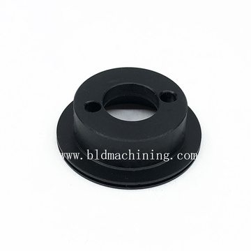 High Precision Lathe Turning Plastic Parts with Grooves