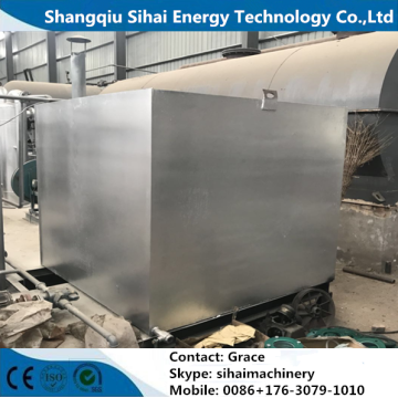 Recycle Waste Tire To Diesel Oil Pyrolysis Plant