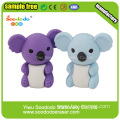 Free Sample Animal Koala Eraser,promotion animal eraser