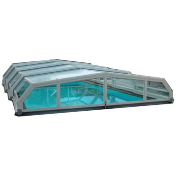 Patio Enclosure Pool Cover Commercial Retractable Roof