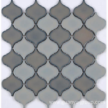 Mixed Color Porcelain Mosaic Tile