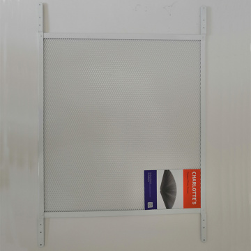 High strength security grille door for pet