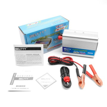 Portable Mini Inverter High Efficiency 500W with USB