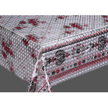 Popular Design for 3D Emboss Printed Tablecloth 3D Embossed Printed Table Covers supply to India Supplier