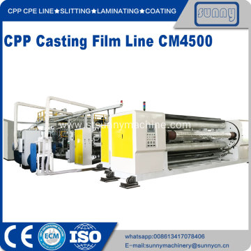 High Quality for China CPP Plastic Casting Film Extrusion Machine, CPP Cast Film Line Exporters cpp casting film lline model CM4500 supply to Poland Manufacturer