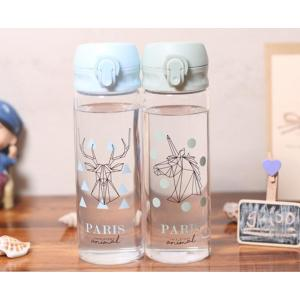 New Design Partten Glass Water Bottle For Wholesale