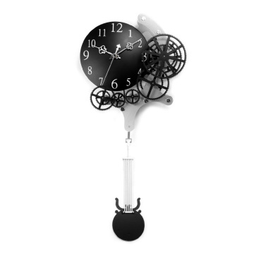 Big Pendulum Gear Hanging Clocks