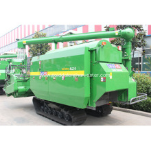 transverse flows roller threshing separation  rice cutting