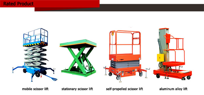 Mobile Hydraulic Lift Platform