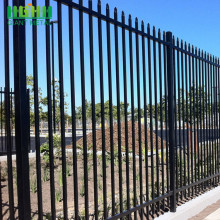 High Quality PVC Coated Wrought Iron Fence