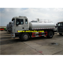 8000 Litres 6ton Oil Delivery Trucks