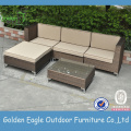 4 Seater garden patio wicker sofa set