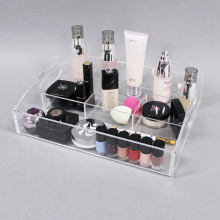 Clear Acrylic Makeup Organizer Tray