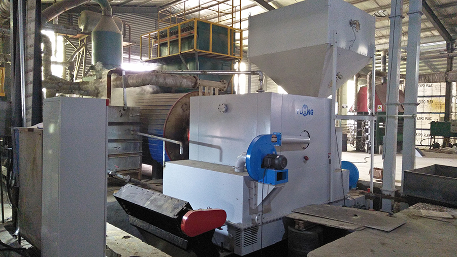 Wood Pellet Sawdust Biomass Burner