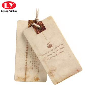 High Quality Jeans Paper Hang Tag