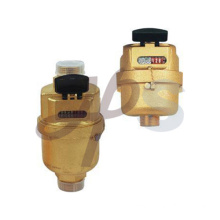 Brass or plastic Volumetric water meter
