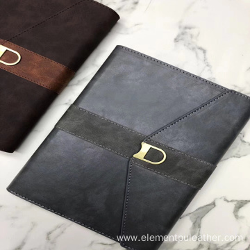 printing yang buck PU leather for diary