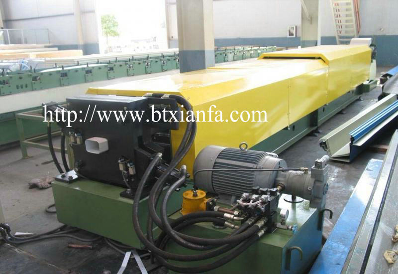 Square Downpipe Machine