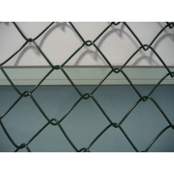 Used chain link fence Used for basketball fence