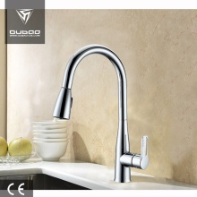 High Arc Rotatable Spout Pull-Down Sprayer Kitchen Faucets
