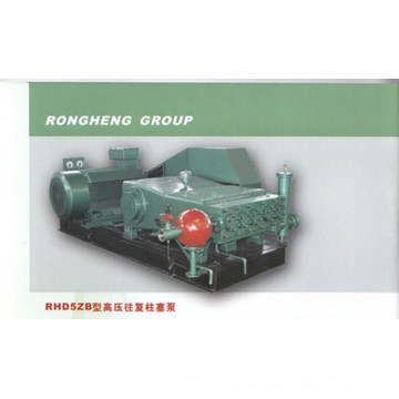 Single cylinder reciprocating plunger pump
