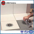 Grey floor flexible tile grout adhesive