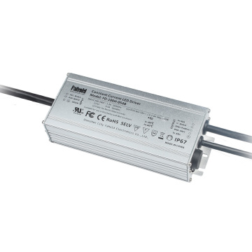 Conducteur Dimmable Imperméable Courant Constant 100W