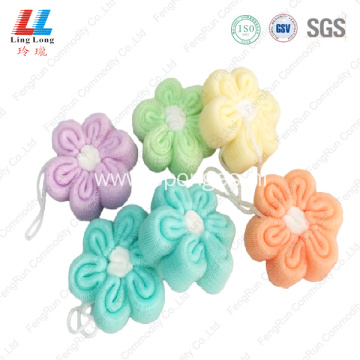 Massage luxury elastic mesh sponge ball