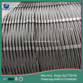 stainless steel rope netting woven wire rope zoo mesh