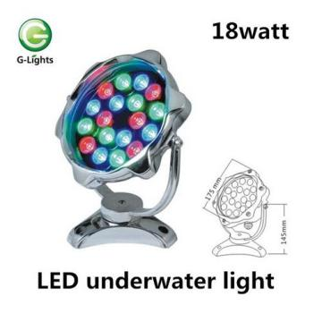OEM Factory for Led Underwater Fountain Light 18watt New Design RGB LED Pool Light export to Indonesia Factories