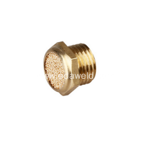 Copper Flat Head Muffler Joint Fittings
