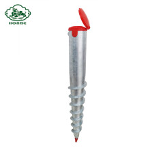 Galvanized Ground Screw Anchor For Wooden House
