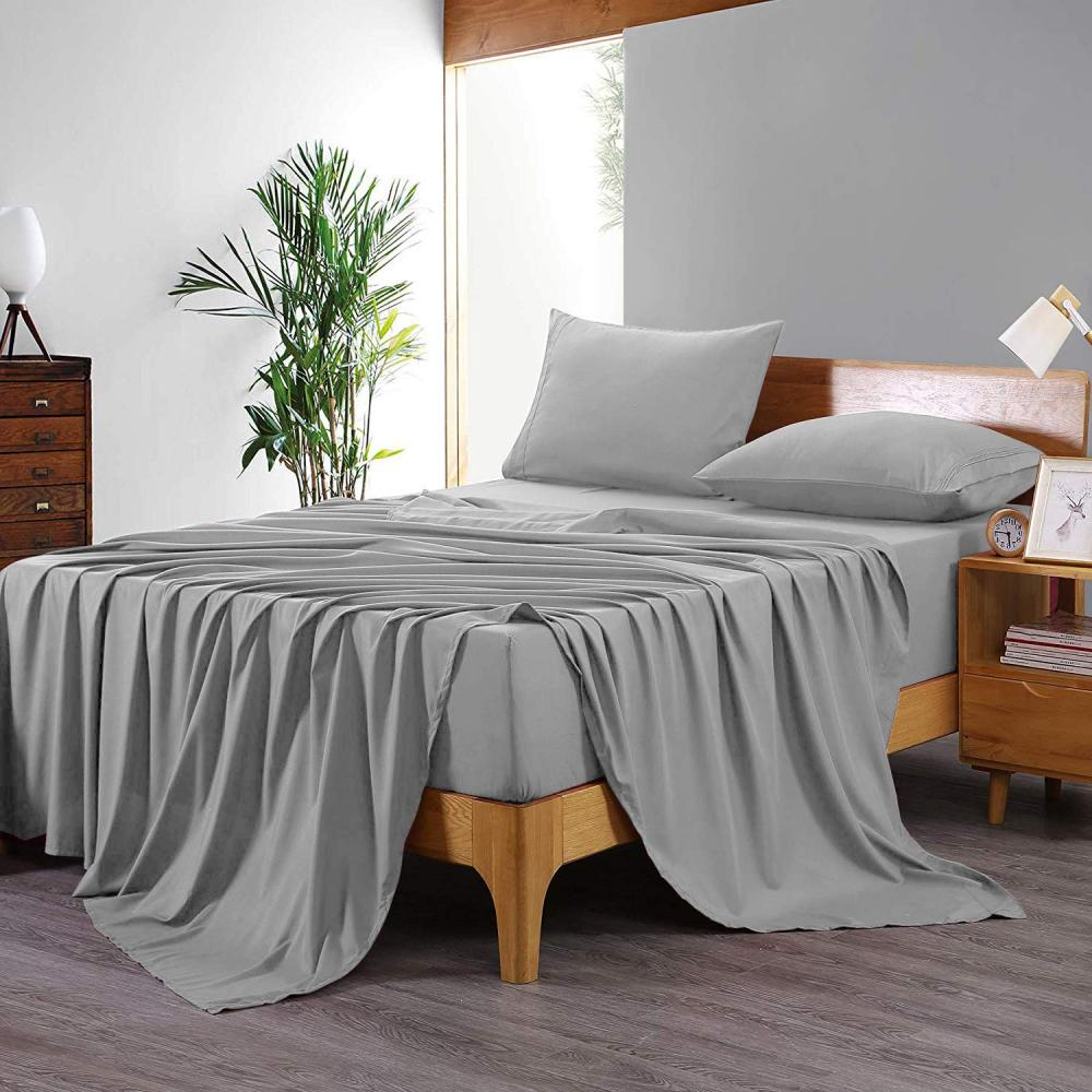 4pcs Microfiber Bed Sheet