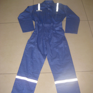Wholesale blue Jumpsuit Safety Workwear