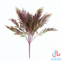 Artificial Red Branch Leaves