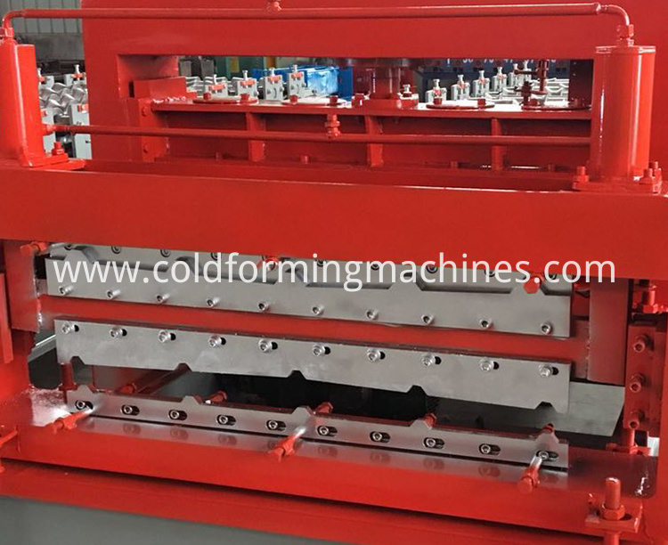 double layer roll forming machine 10