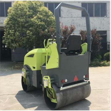 High efficiency Yanmar engine three cylinders road roller 3000KG
