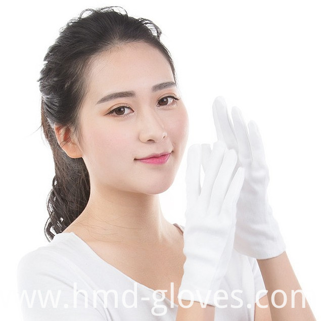 White Gloves Comfortable