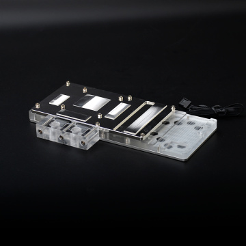 RGB light Copper Full Coverage GPU water block