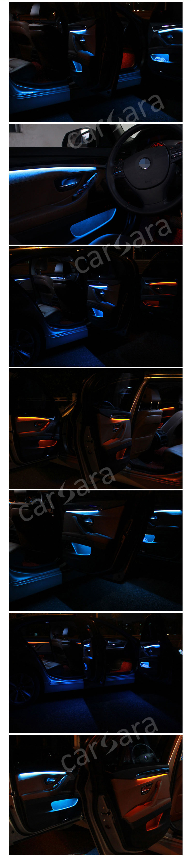 LED decoration strip lamps for bmw 5 series