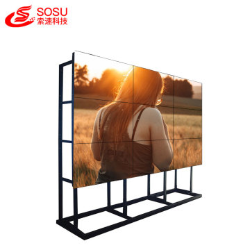 high resolution ultra narrow bezel lcd video wall