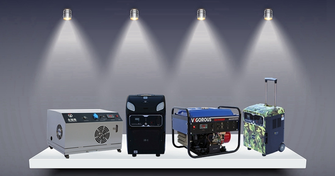 2KW Super Silent Gas Inverter Generator
