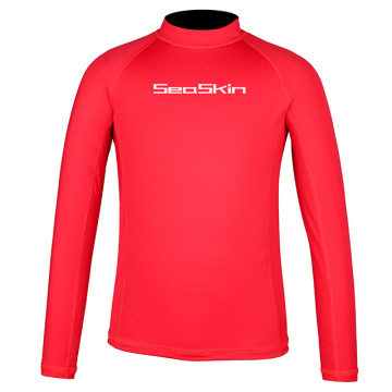 Seaskin Girls Long Sleeve Rash Guard