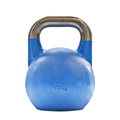 Vinyl Rubber Coated Steel Kettlebell