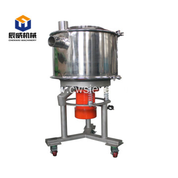 Large capacity high frequency sifter for sugar