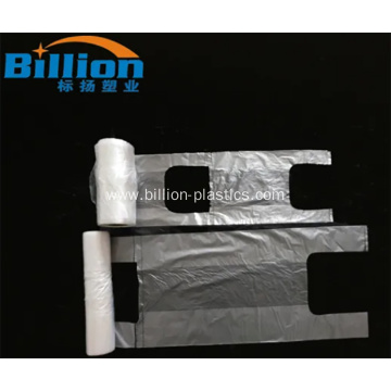 Plastic Freezer Food T-Shirt Bag on Roll